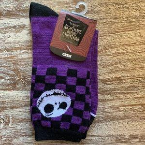 Nightmare before Christmas socks NWT
